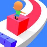 キューブに乗って高く積み上げろ「キューブ・サーファー Cube Surfer!」アプリ紹介/プレイ動画