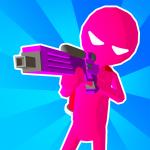 ペイント弾で染めろ!打ちまくって全員倒す「Paintman 3D ペイントマン3D」アプリ紹介/プレイ動画