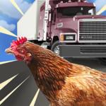 車を避けて渡りきれ!生き残りをかけた車道上のチキンレース「Chicken Royale: Challenge Run! チキンロワイアル」アプリ紹介/プレイ動画