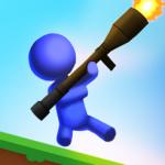 敵をぶっ飛ばせ!バズーカ砲で破壊し尽くす「Bazooka Boy バズーカボーイ」アプリ紹介/プレイ動画