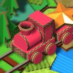 ぶつからないように走らせよう!段ボール機関車の箱庭パズル「ニワテツ」アプリ紹介/プレイ動画