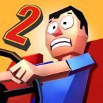 ブレーキが壊れた!ぶつからないように避けながらカーチェイス「Faily Brakes 2 フェイリーブレーキ2」アプリ紹介/プレイ動画