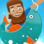 大漁で稼いでスキルアップ!さらなる大物を狙う暇つぶし釣りゲー「フックドインク:フィッシャータイクーン Hooked Inc」アプリ紹介/プレイ動画