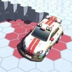 アリーナで生き残れ!落ちないようにドリフトを決める「RacerKing レーサーキング」アプリ紹介/プレイ動画