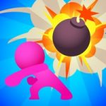 ギミックを利用して爆破!爆弾でターゲットを吹きとばせ「こっそり爆弾投げる Bomb Bomb!」アプリ紹介/プレイ動画