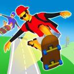 公道を爆走!スケボーで坂道を猛スピードで駆け下りる「Raw Runs ローランズ」アプリ紹介/プレイ動画