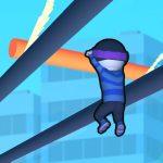 スライドして進め!レールを滑走して屋根を伝う「レール・ラン Roof Rails」アプリ紹介/プレイ動画