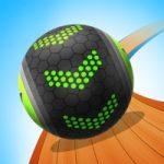 スワイプでボールアクション!縦横無尽に動いてゴールを目指す「Going Balls ゴーイングボールズ」アプリ紹介/プレイ動画