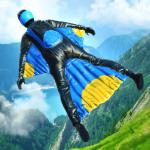ウイングスーツでジャンプ!エキサイティングな飛行アクションで的を狙う「Base Jump Wing Suit Flying」アプリ紹介/プレイ動画
